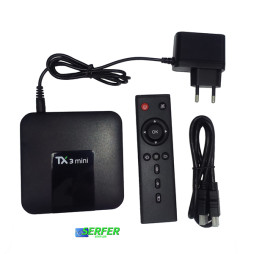 Комплектация Tanix TX3 mini смарт тв приставка